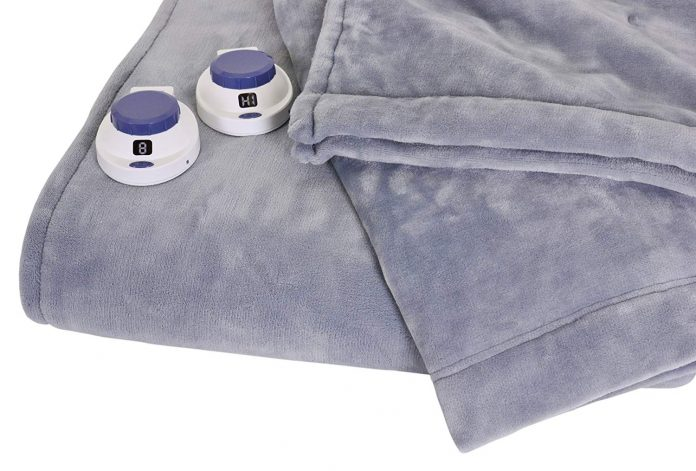 Soft Heat Low Voltage Electric Blanket, listed best electric blanket