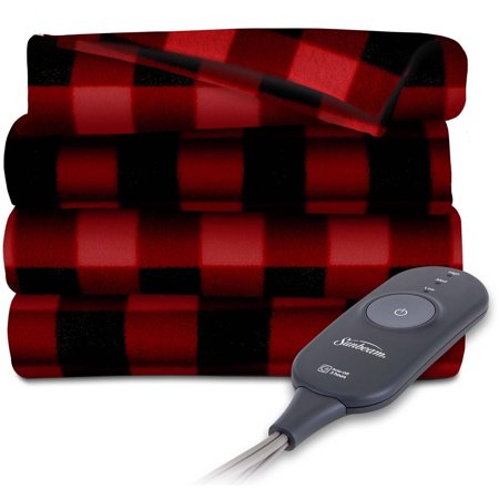 Sunbeam Electric Heated Fleece Throw