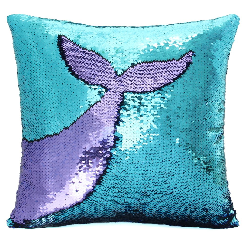BASUMEE MERMAID SEQUIN PILLOW