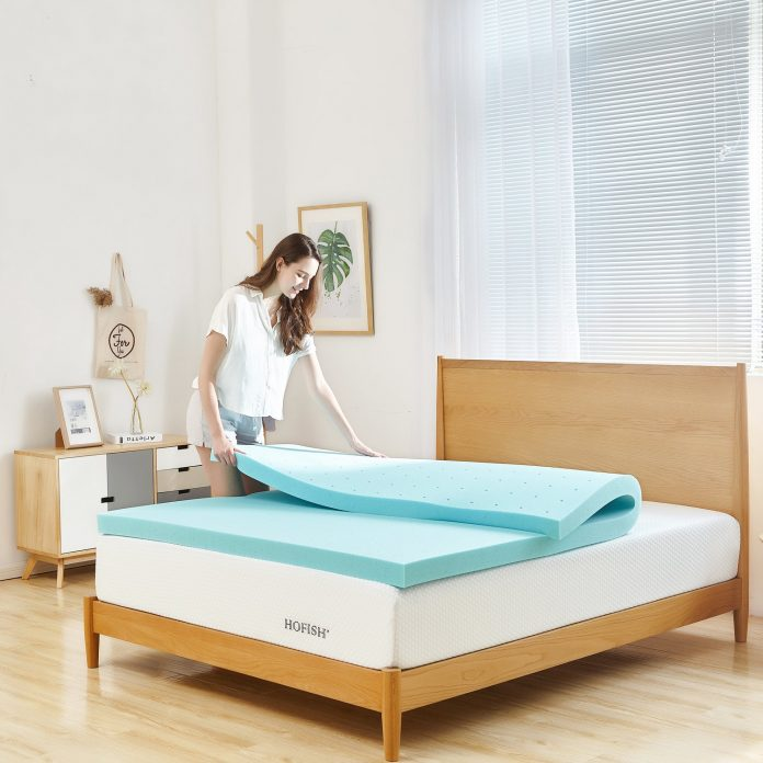 memory foam king mattress topper