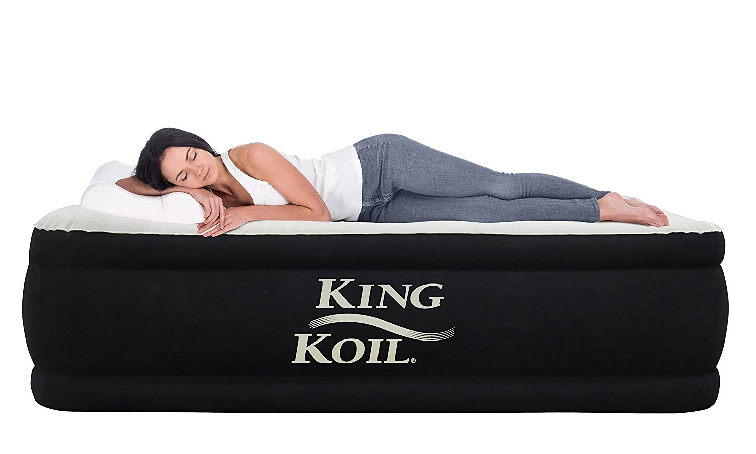 King Koil Luxury Raised Air Mattress