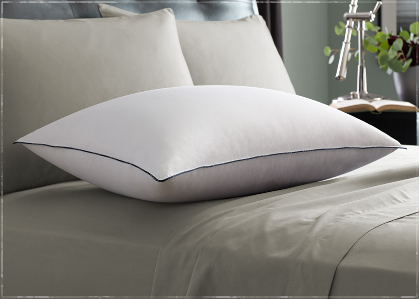 white pillow for back sleeper