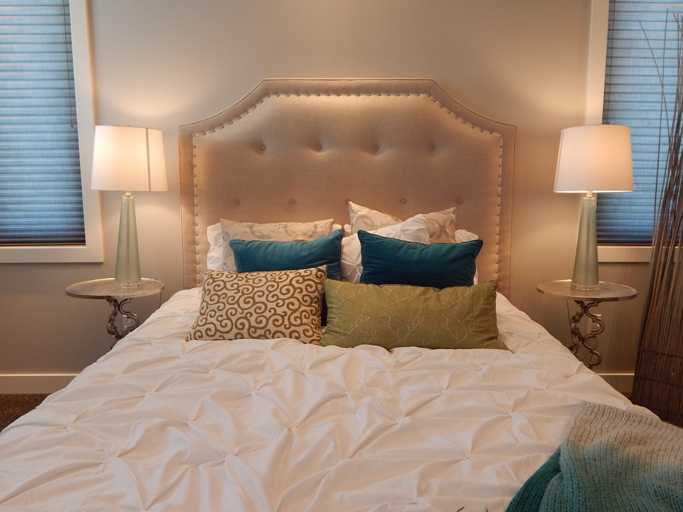 beautiful bed